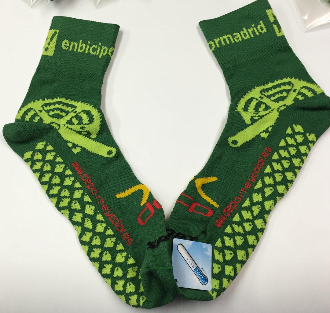 Fabricaci n de calcetines personalizados ciclismo clubs - Calcetines de navidad personalizados ...