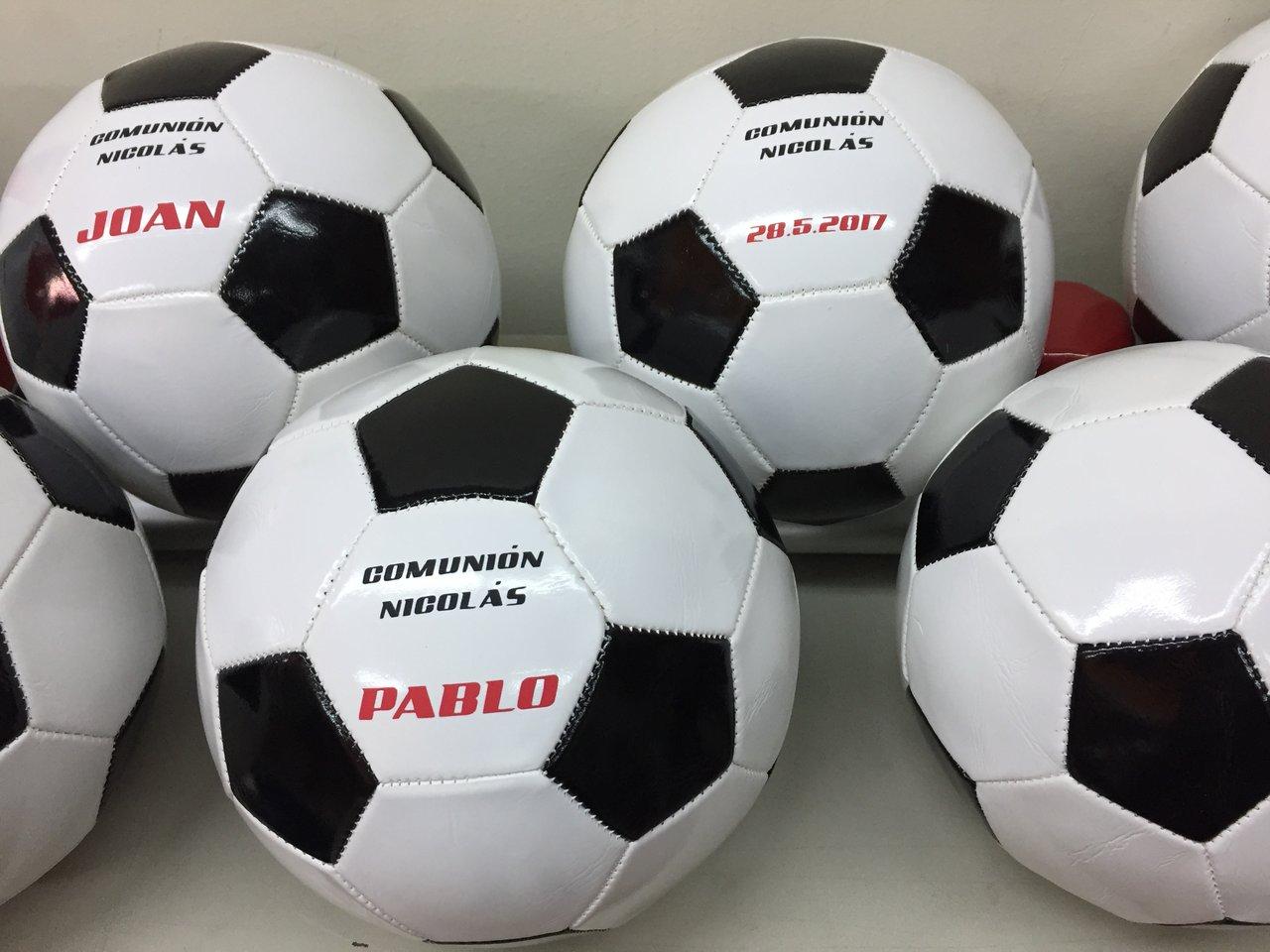 regalos comunion futbol