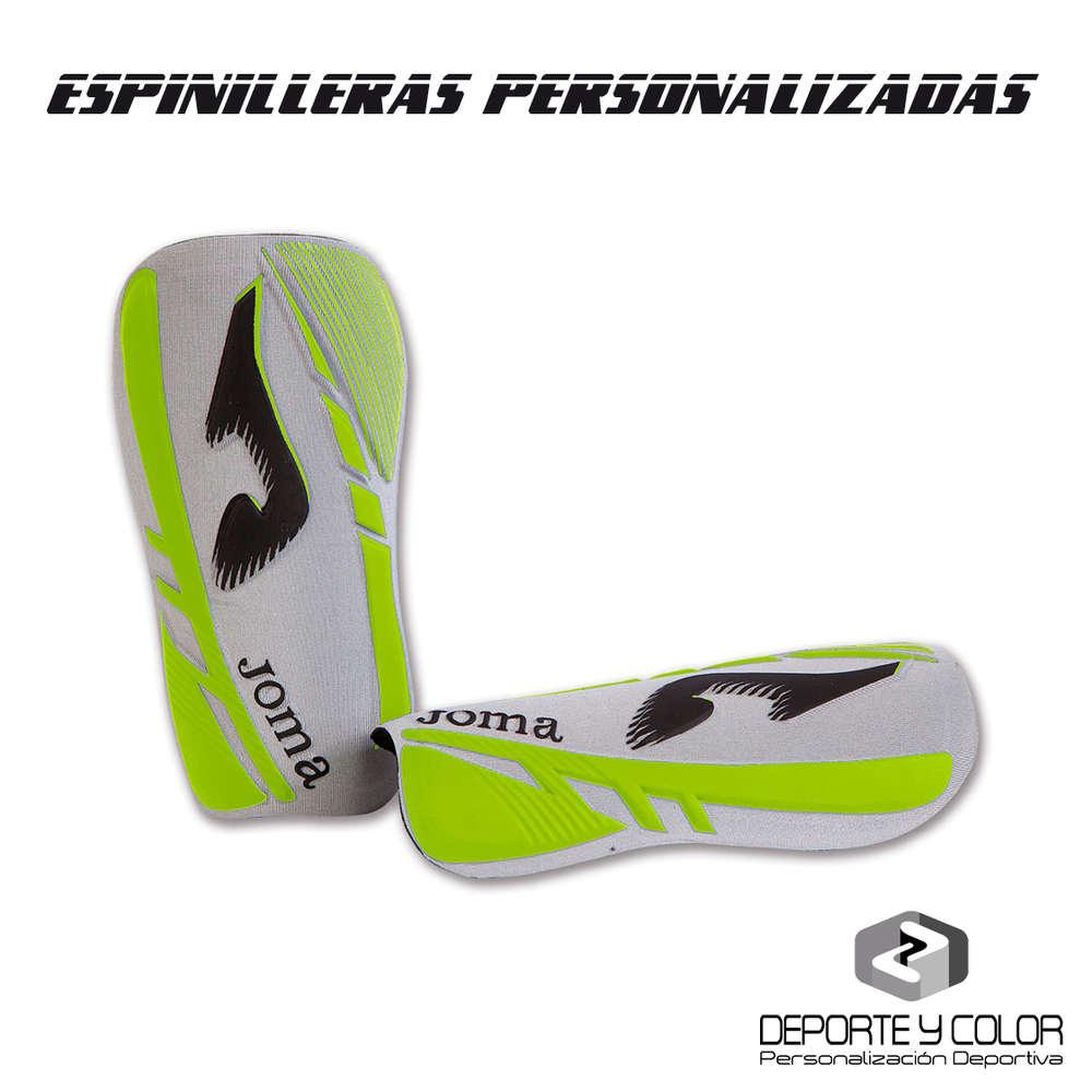 Espinillera fútbol joma soft personalizada - logo - nombre - fotos ... 2d1384a7c1d60