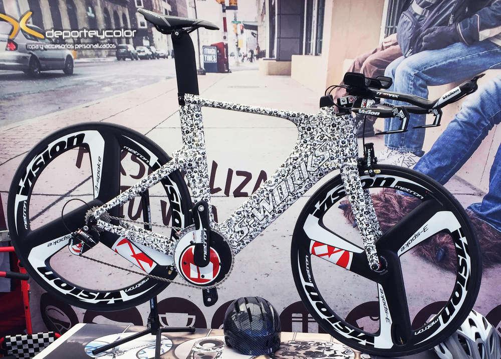 rotulación bicicleta carretera, montaña, triatlón y clásica ...