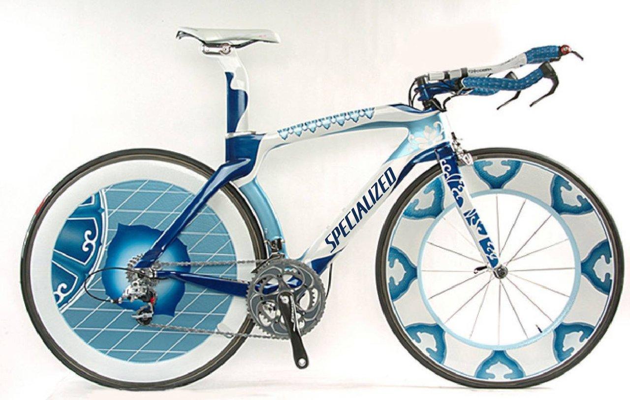 pintado bicicleta carretera, montaña, triatlón y clásica ...