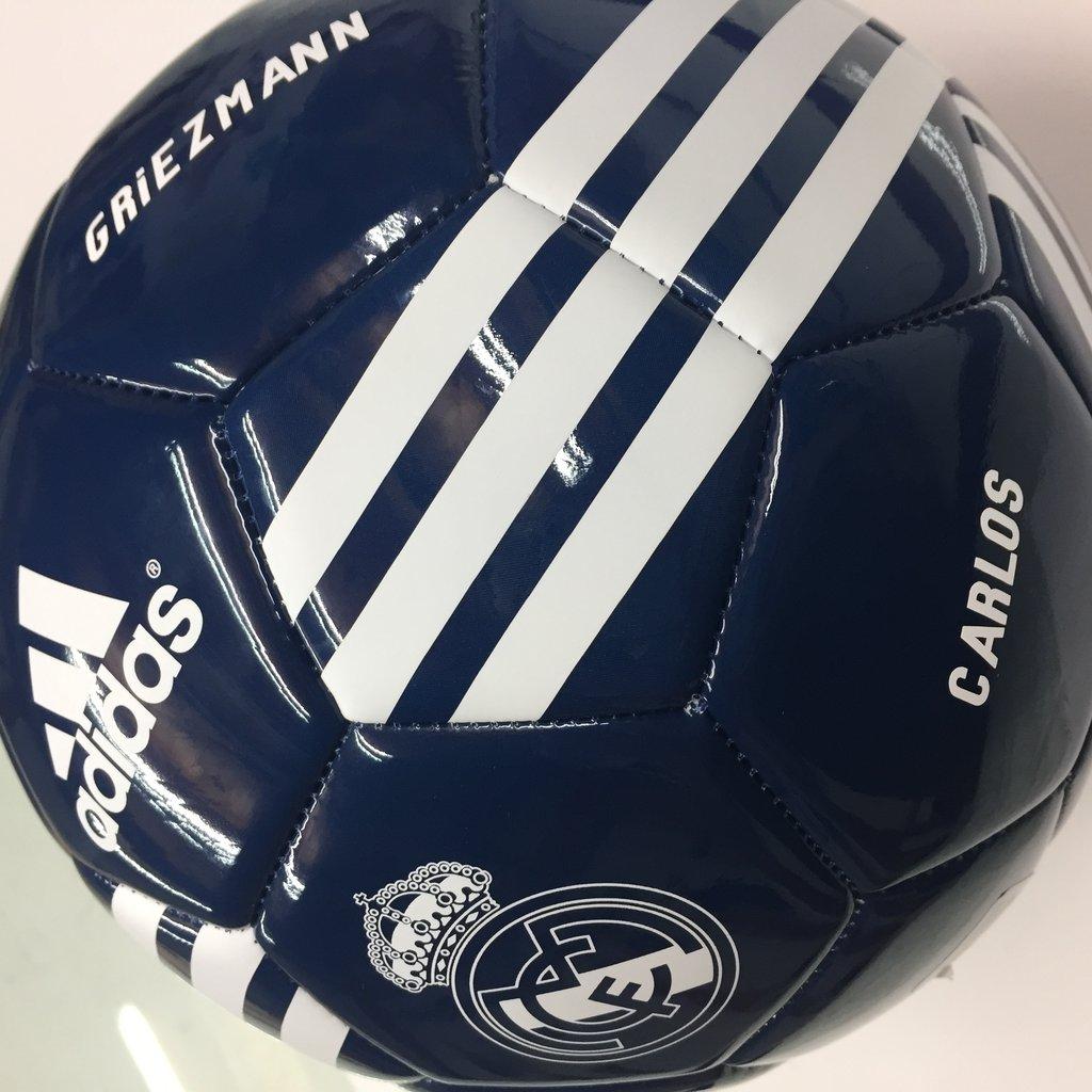 ceefc7b556d00 balón fútbol oficial adias real Madrid 2018 personalizado - tienda ...
