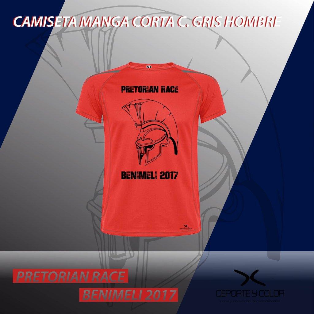 camiseta técnica personalizada hombre - carreras - running - trail ... 731b7fefddfe0
