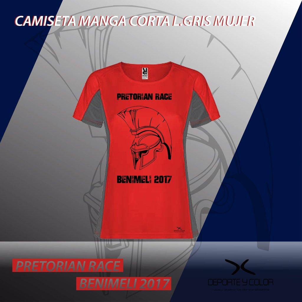 camiseta técnica personalizada mujer - carreras - running - trail ... b920f9a7b2fbb