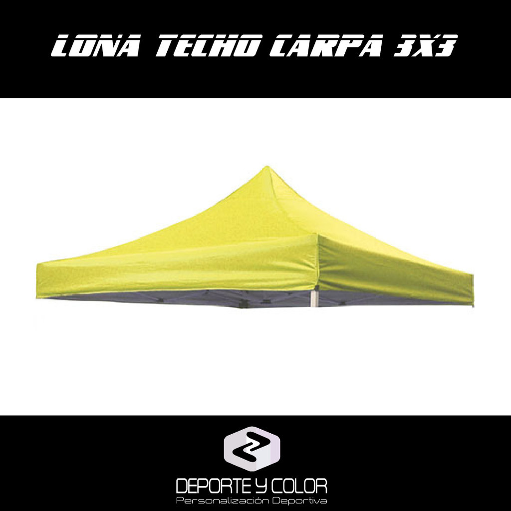 Lona techo para carpa plegable 3x3 repuesto eventos - Carpa 3x3 plegable ...