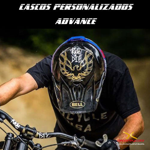 PERSONALIZACIÓN ADVANCE DE TU CASCO