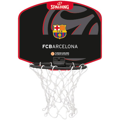 MINI CANASTA SPALDING Euroleague FC BARCELONA