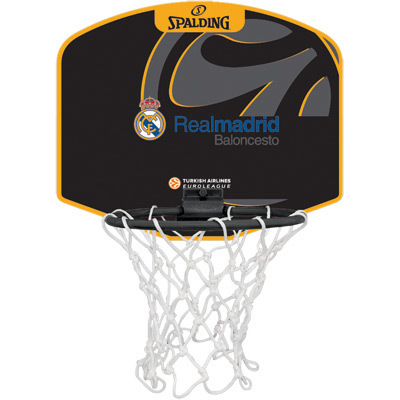 MINI CANASTA SPALDING Euroleague REAL MADRID