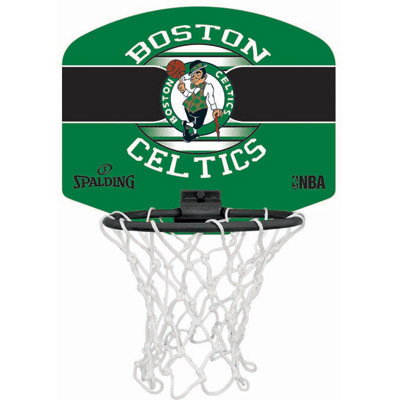 MINI CANASTA SPALDING NBA MINIBOARD BOSTON CELTICS