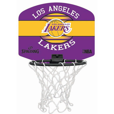 MINI CANASTA SPALDING NBA MINIBOARD LA LAKERS