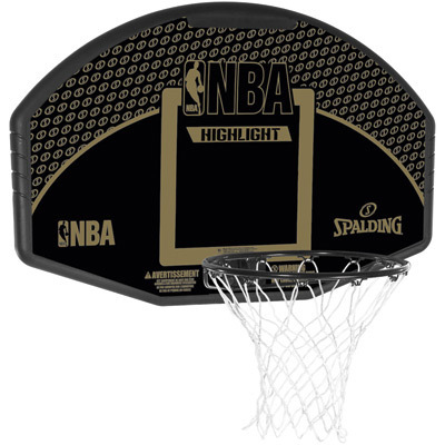 TABLERO CANASTA BASKETBALL NBA HIGHLIGHT BACKBOARD FAN SPALDING