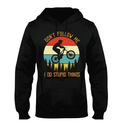 SUDADERA DONT FOLLOW ME MOUNTAIN BIKE PERSONALIZADA