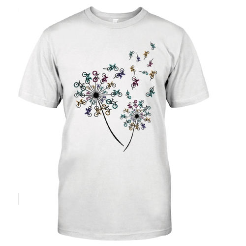 CAMISETA FLOWER MOUNTAIN BIKE PERSONALIZADA